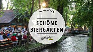 11 richtig schöne Biergärten in München