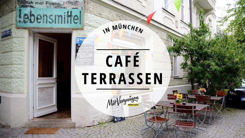 11 schöne und sonnige Caféterrassen in München