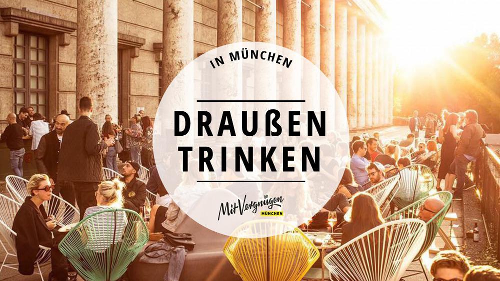 11 Bars in München, in denen du gut draußen trinken kannst