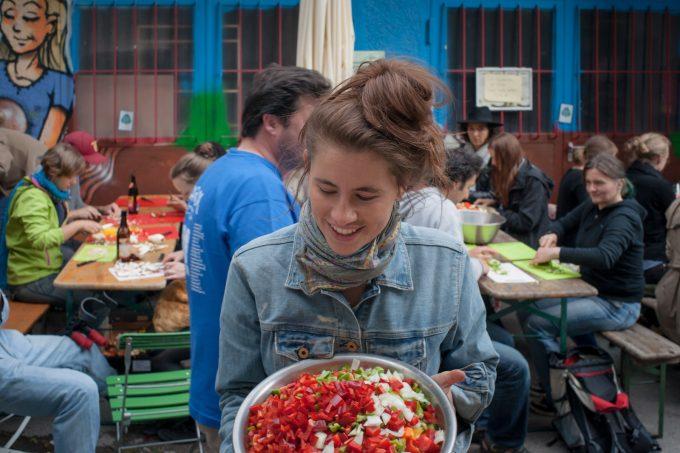 Schnibbelparty Foodsharin München
