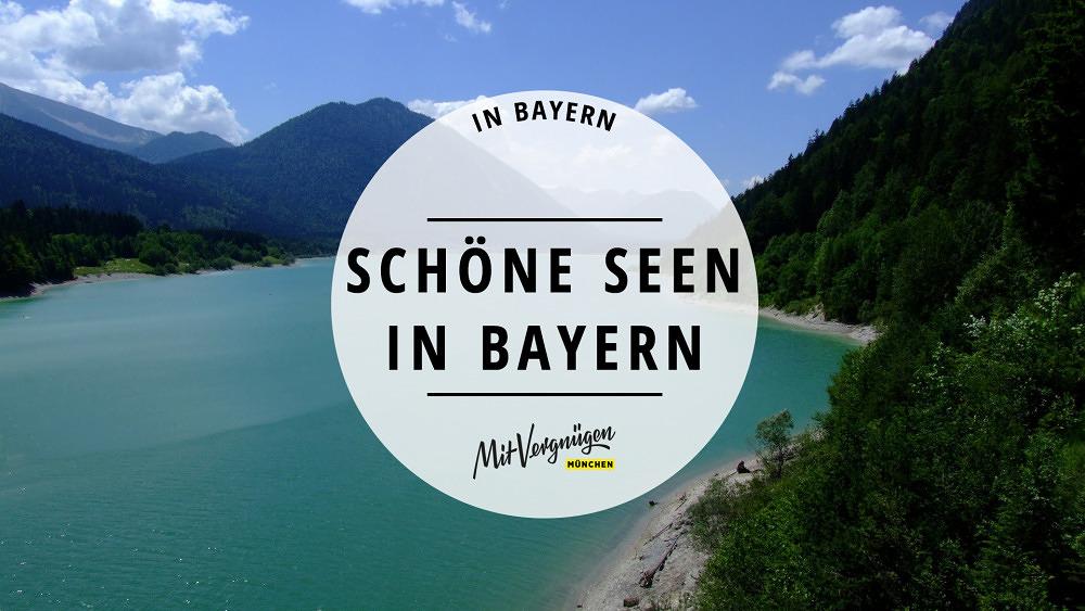 11 wunderschöne Seen in Bayern