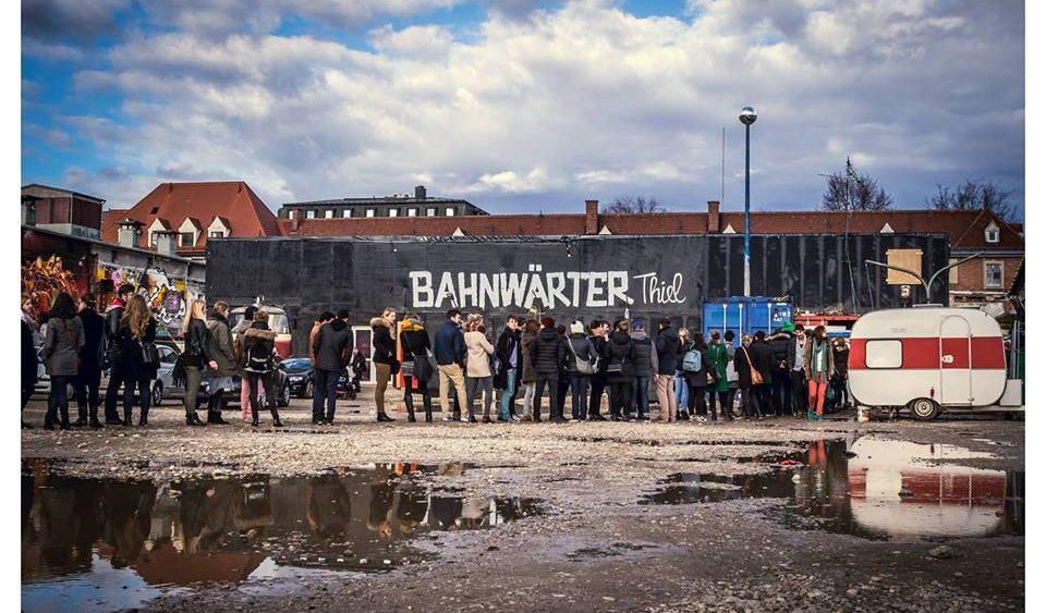 Viehhof Bahnwärter Thiel Flohmarkt