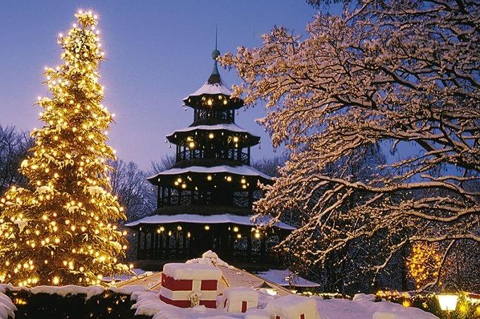 Weihnachtsmarkt Chinesischer Turm