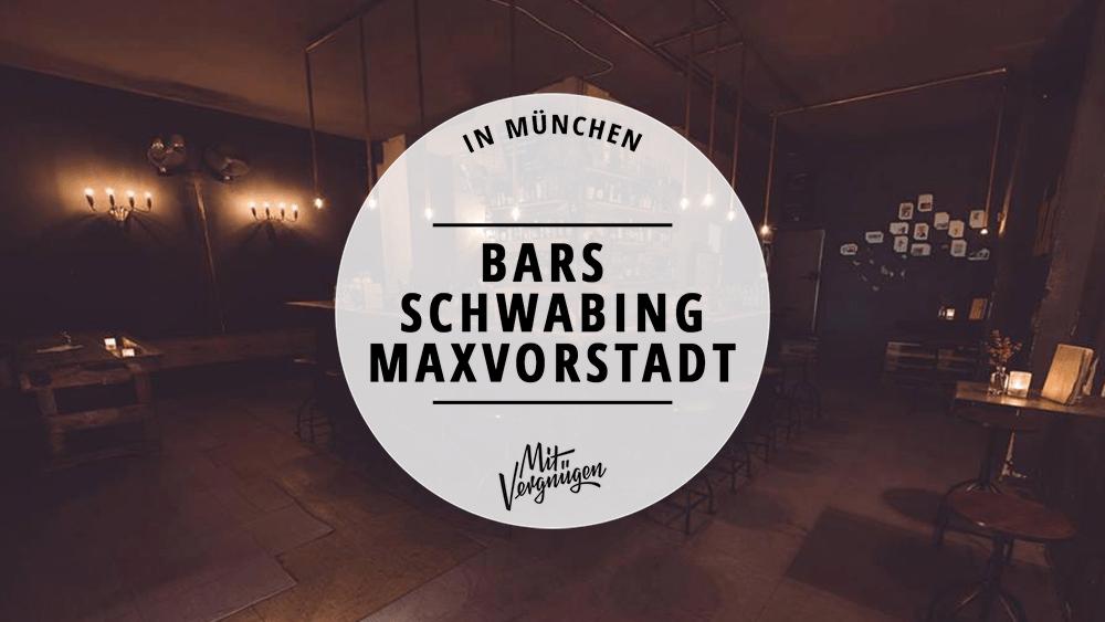 Bars Schwabing Maxvorstadt