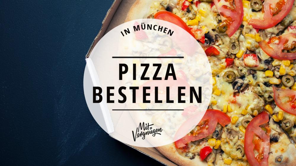 Pizzen Pizza bestellen deliveroo München