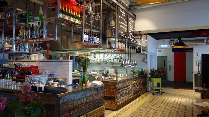 Küche im Kraftwerk