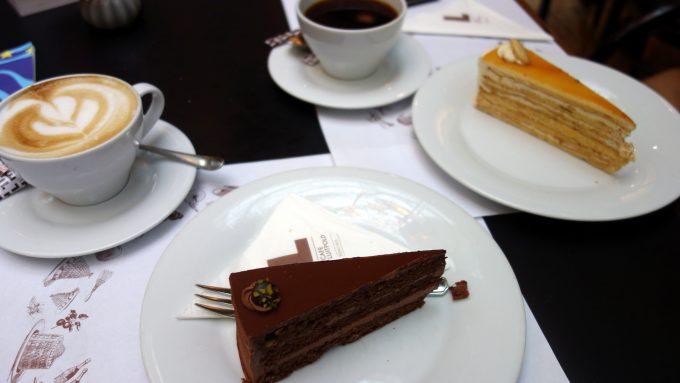 Frühstücken im Café Luitpold