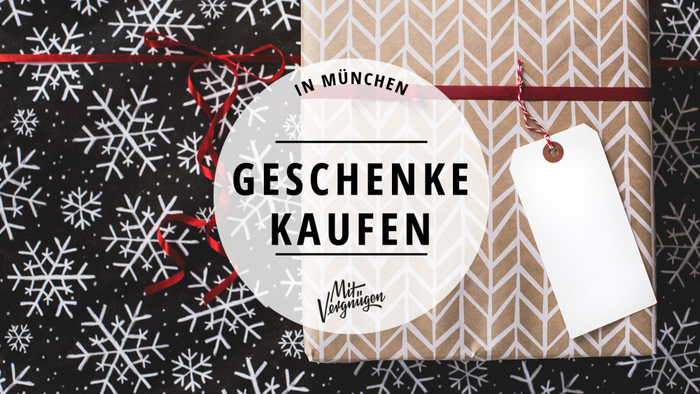 11 Läden in München, in denen du schöne Geschenke kaufen kannst