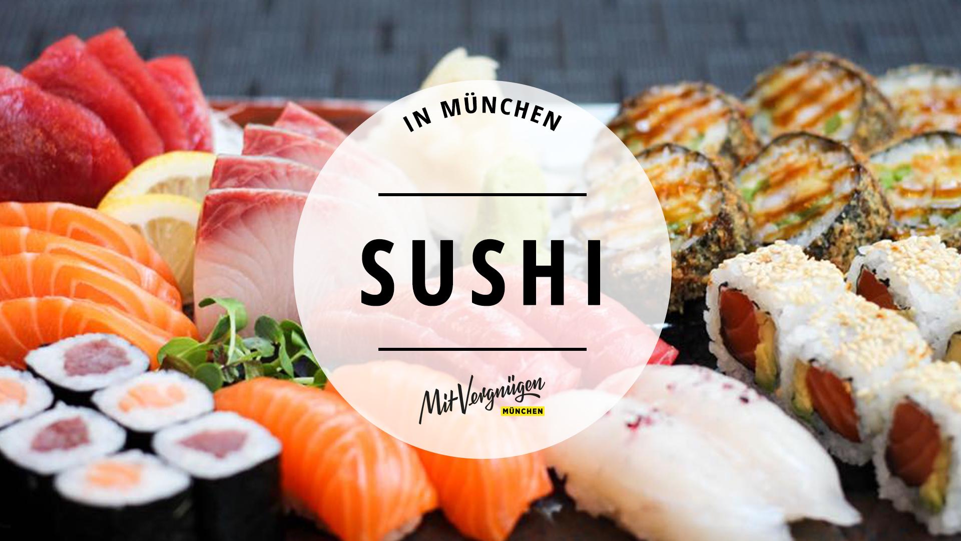 11 Restaurants in München, in denen ihr leckeres Sushi essen könnt