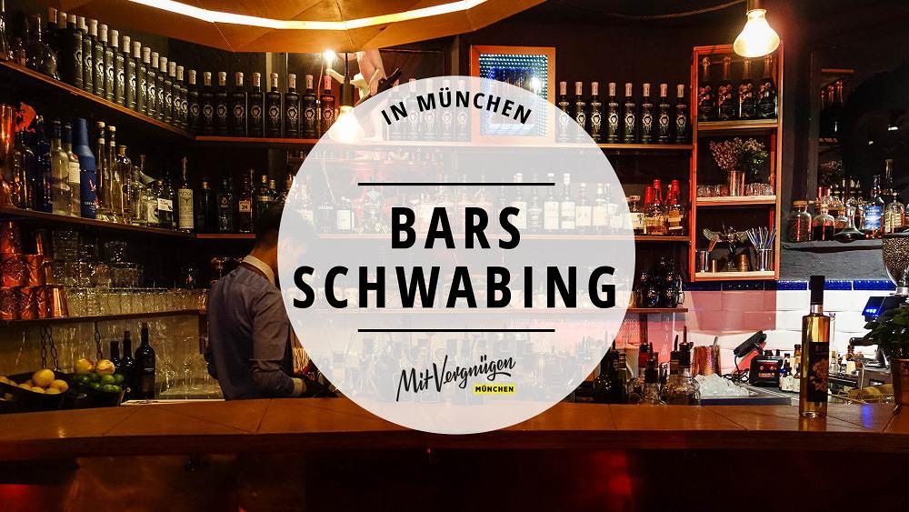 11 ziemlich gute Bars in Schwabing, die ihr kennen solltet