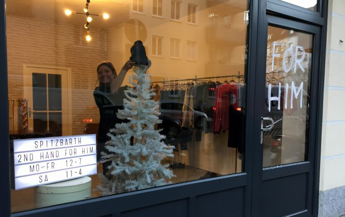 Second Hand Mode für Männer bei Spitzbarth in der Schellingstraße