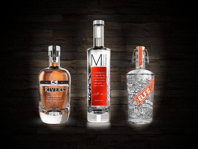 Monaco Vodka Rivers Rum