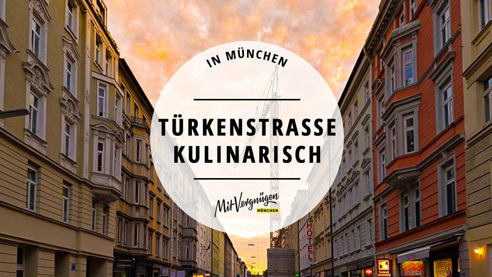 Türkenstraße kulinarisch