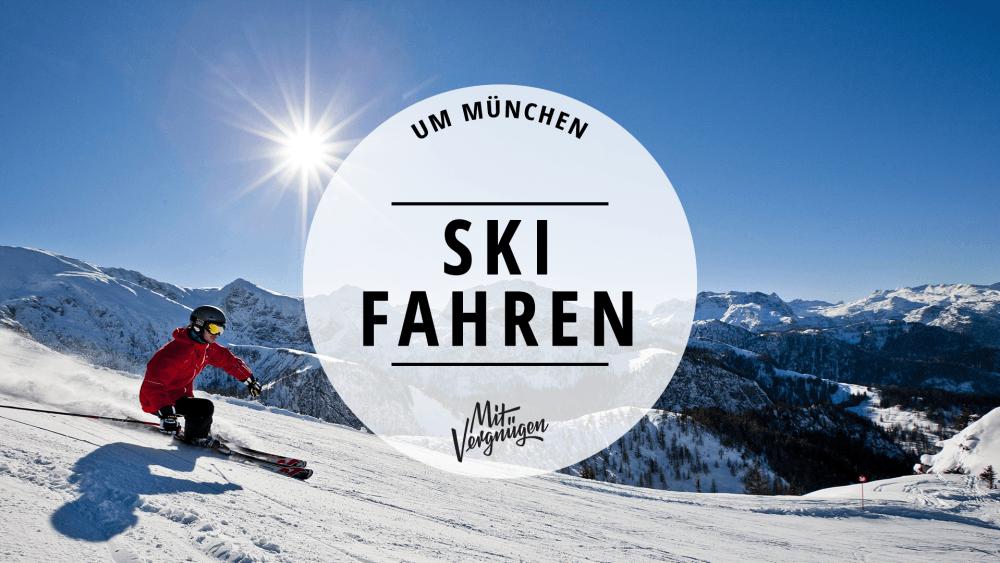 Skigebiete München Umgebung
