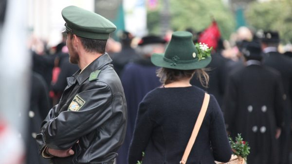Polizei Uniformen Taschen