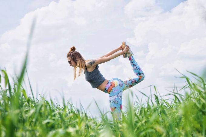 Outdoor Fitness Tanzvergnügen