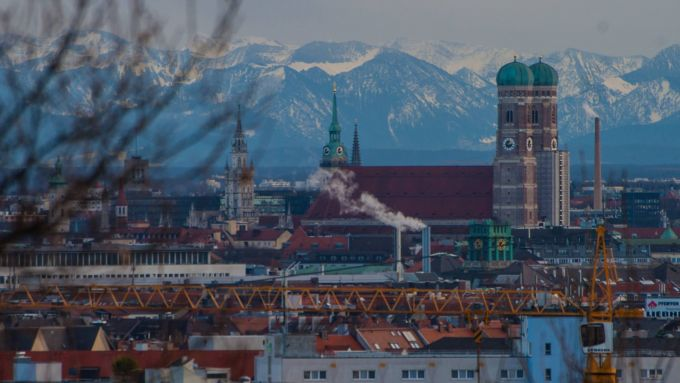 München Berge Sehen