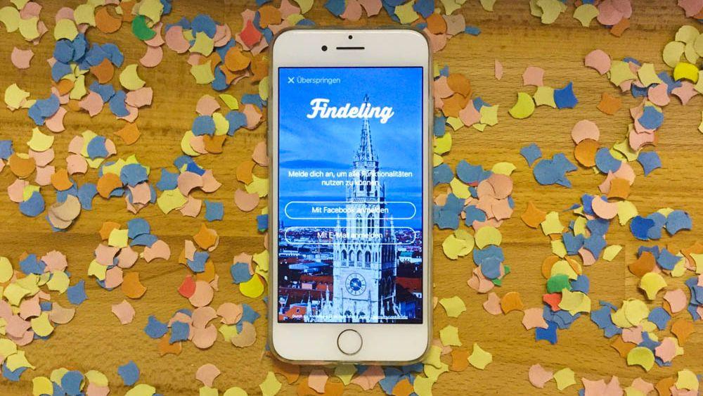 Findeling App München