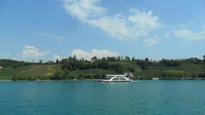 Schiff fahren am Bodensee