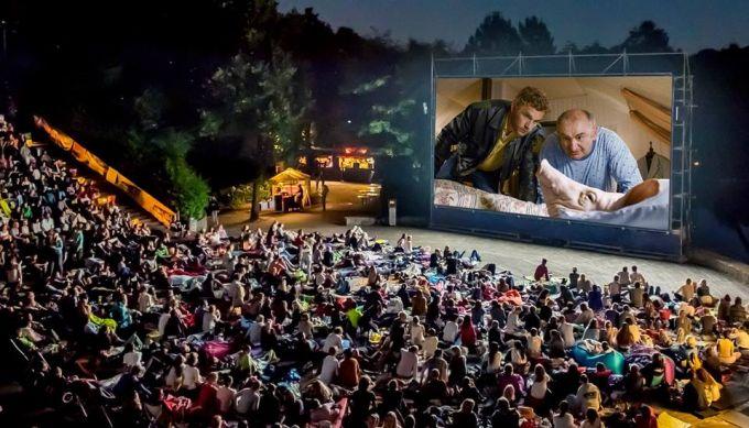 Kino, Mond und Sterne