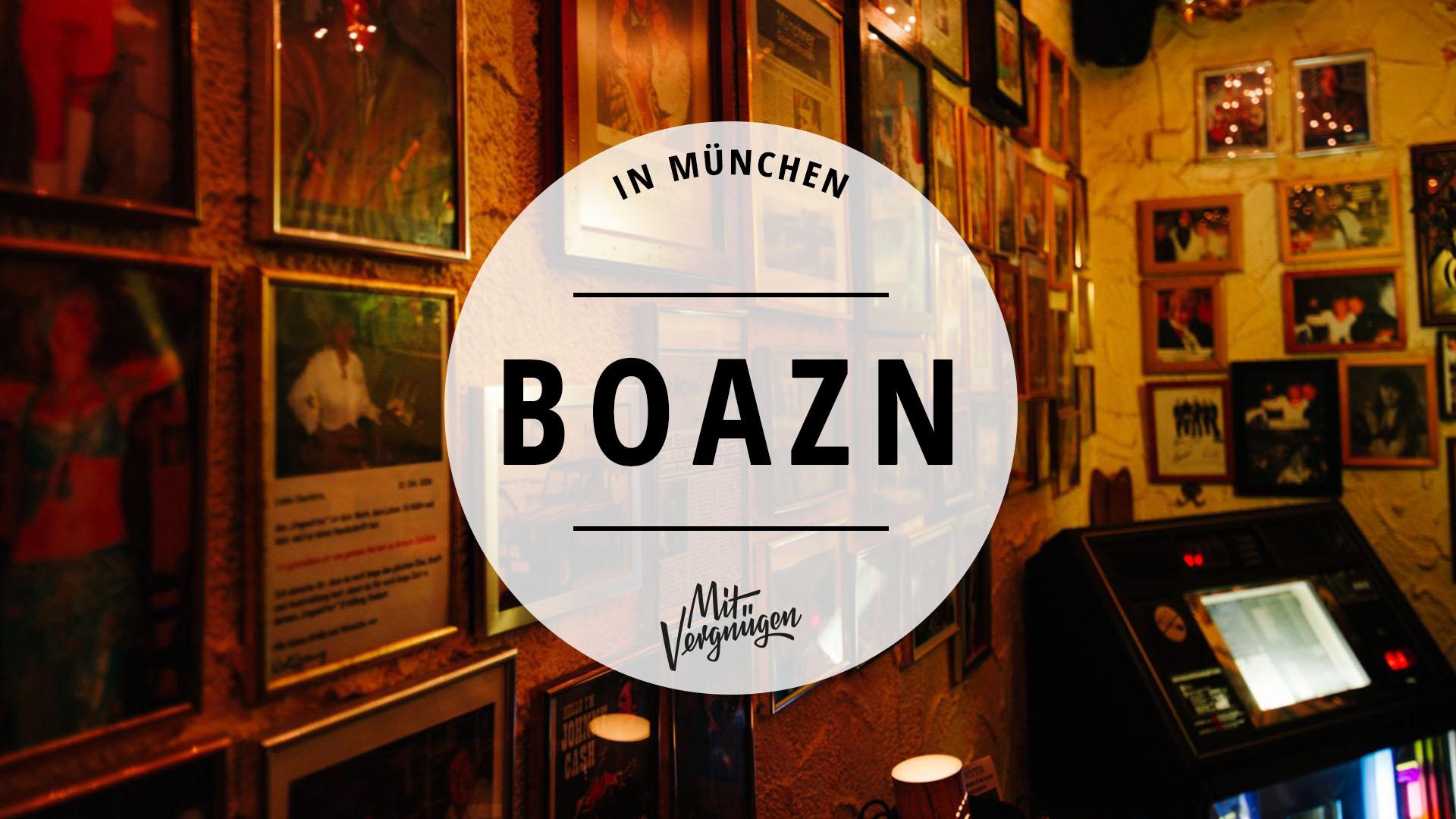 11 gute Boazn in München, in denen du mal trinken solltest