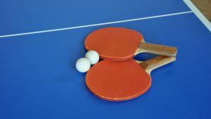 Tischtennisplatten Tischtennisturnier