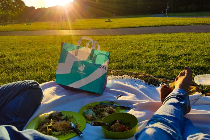 Deliveroo Park Picknick
