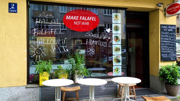 Make Falafel Not War