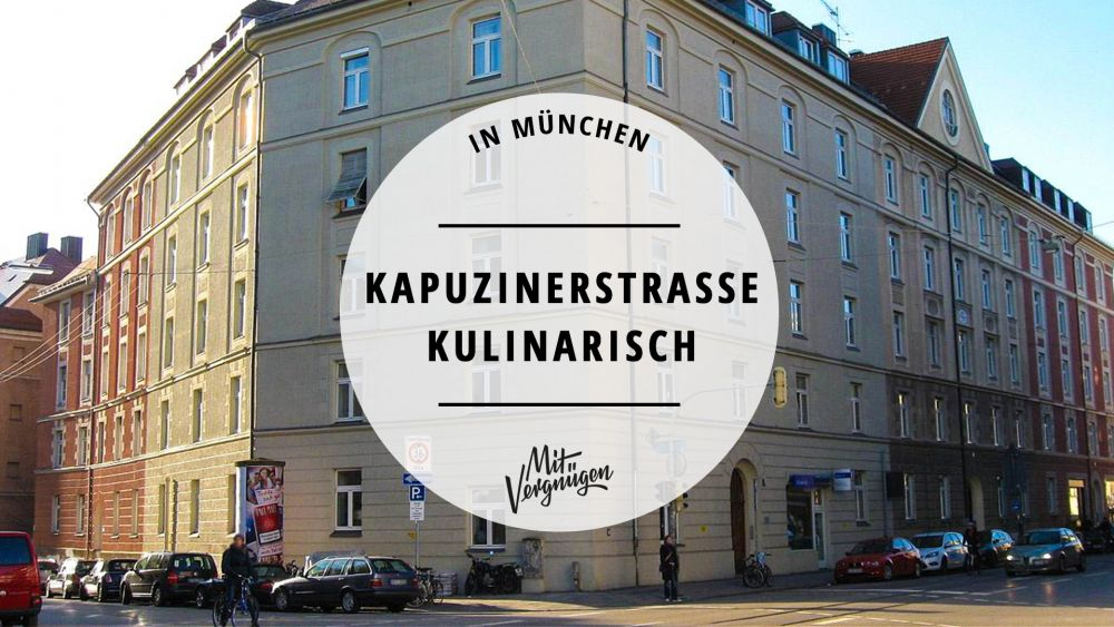Kapuzinerstraße Cafés, Restaurants, Bars