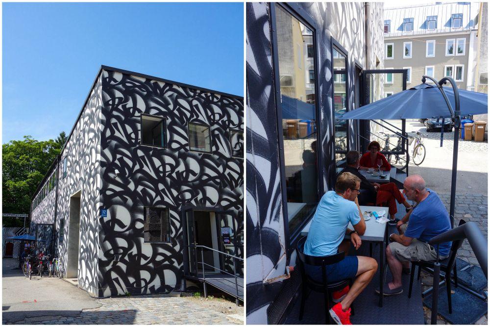Lecker essen im Mural und Streetart gucken im Muca