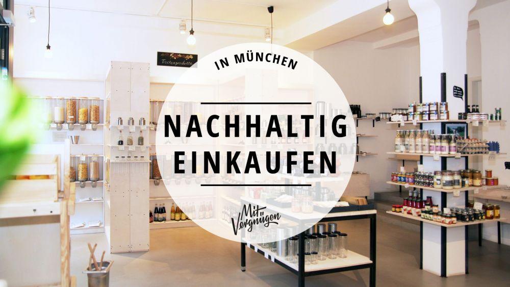 nachhaltige Läden München