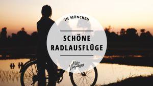 11 schöne Radltouren zu Ausflugszielen rund um München