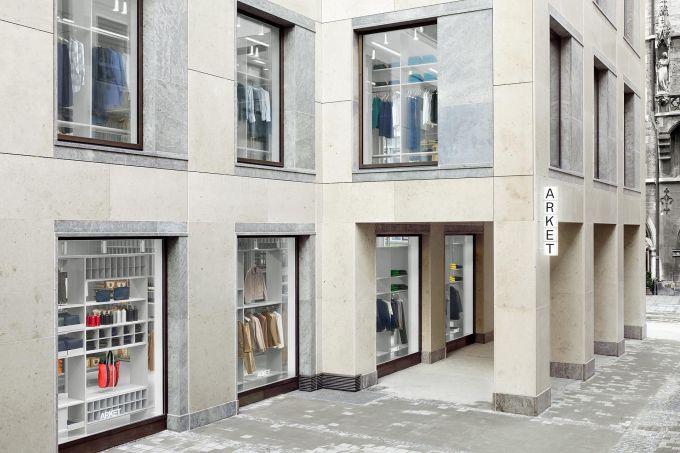 Der Neue Hm Store Arket Eröffnet In München Mit Vergnügen München