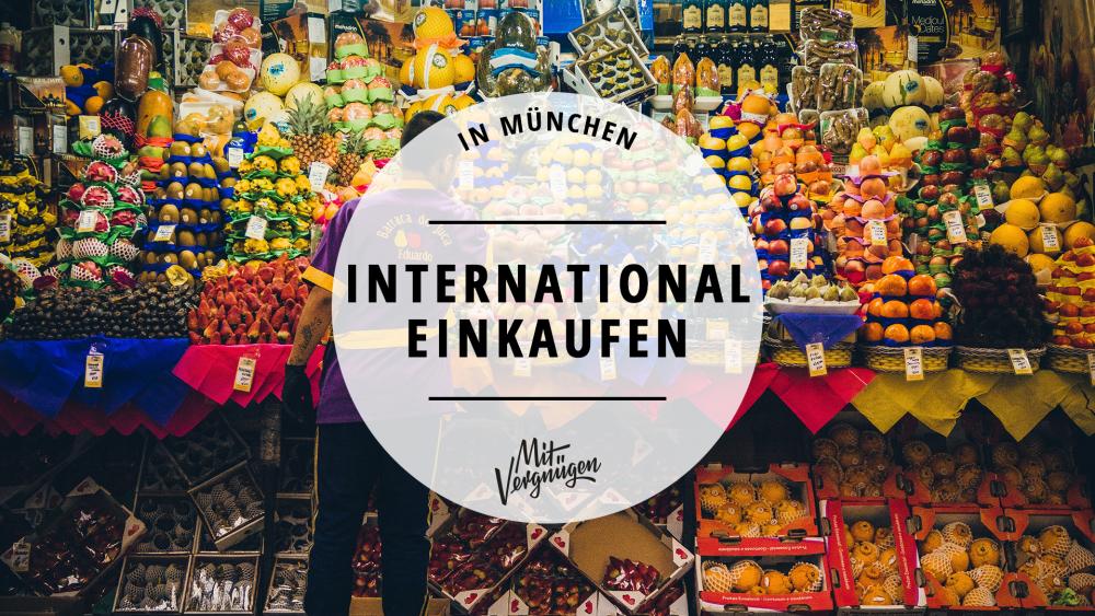 Internationale Supermärkte