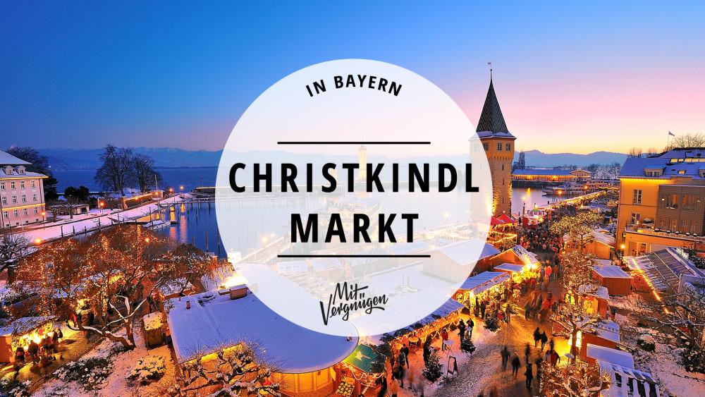 11 wunderschöne Christkindlmärkte in Bayern