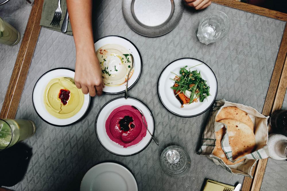 Neni: Israelisch essen im 25hours Hotel am Hauptbahnhof
