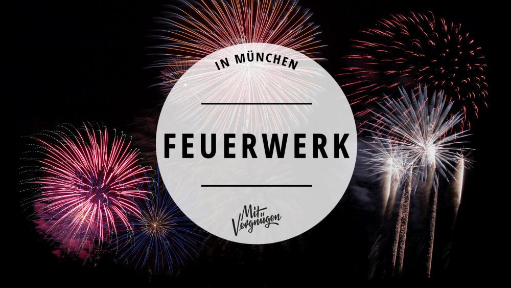 11 Orte in München, an denen du gut Feuerwerk gucken kannst