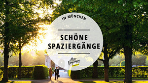 schöne Spaziergänge in München