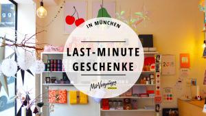 11 Läden in München, in denen du Last-Minute-Geschenke kaufen kannst