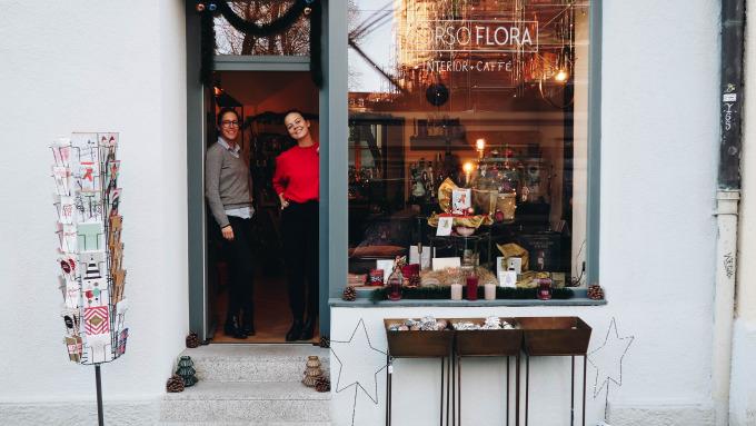 Internationales Interieur und perfekte Geschenke im Corso Flora