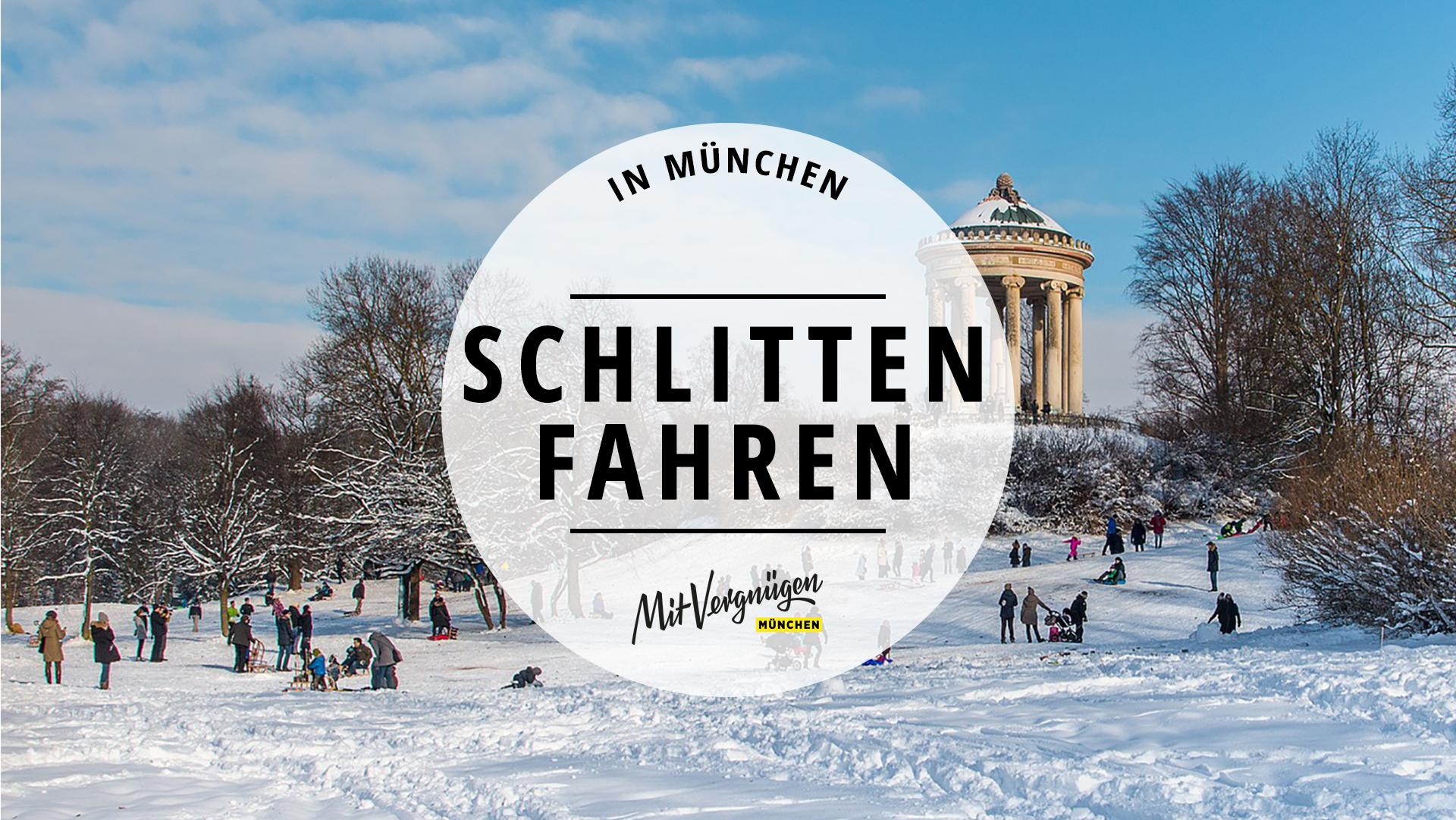 11 Orte in München, an denen ihr super Schlitten fahren könnt