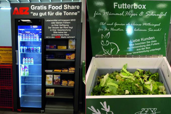 In diesem Münchner Einkaufszentrum könnt ihr ab jetzt Lebensmittel retten