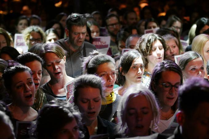Go Sing Choir & Münchner Kneipenchor: Die Stadt ist voll im Gesangsfieber
