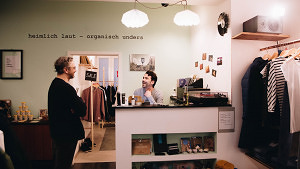 """""""heimlich laut – organisch anders"""": Der neue Fair-Fashion-Laden in der Maxvorstadt"""