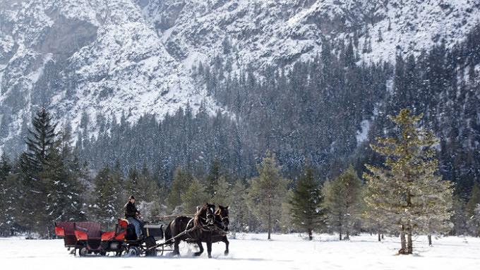 11 schöne Winterausflüge für Verliebte ins Münchner Umland