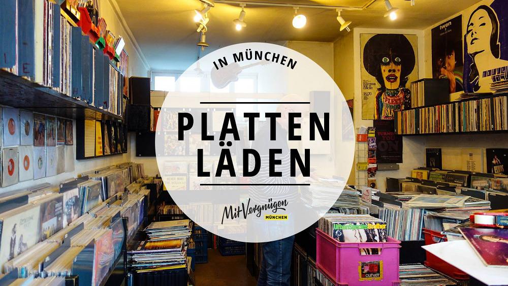 11 besondere Plattenläden in München