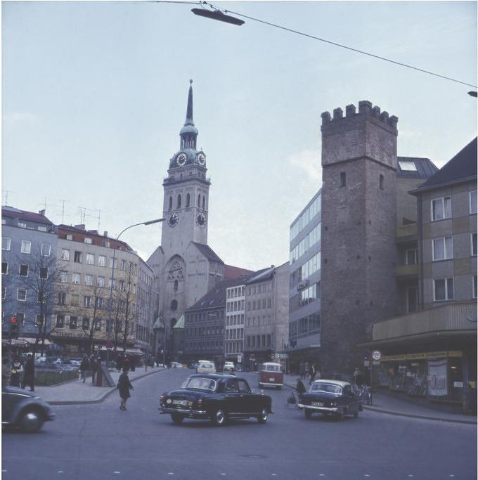 Dieser historische Kalender zeigt München wie es früher war