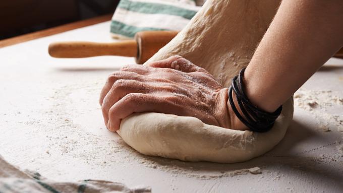 Bäckerei Brot backen