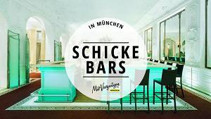 11 schicke Bars in München für einen besonderen Anlass
