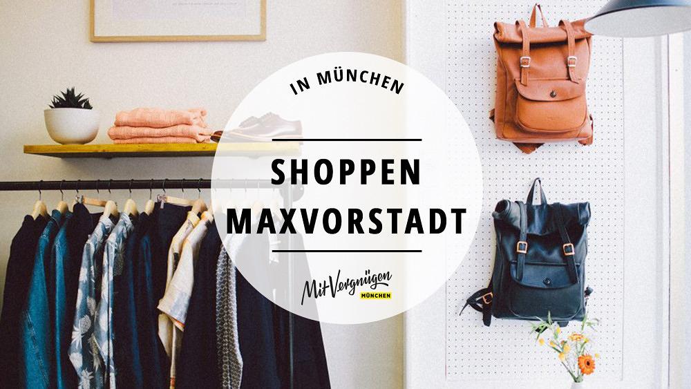 Shopping in der Maxvorstadt: 11 tolle Modeläden
